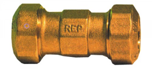 Connection Bigiunto Brass mm 32X32 Hydraulics Fittings