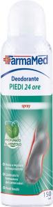 FARMAMED Füße Deodorant Spray Füße 24h 05206 Parfüm