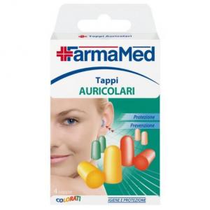 FARMAMED Caps For ears Couples 05215 Antinoise