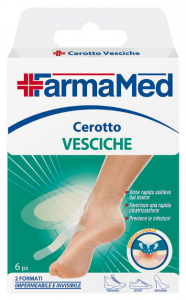 Farmamed Feet Patches Bladders 05229 Product For Dressing 6 Pieces