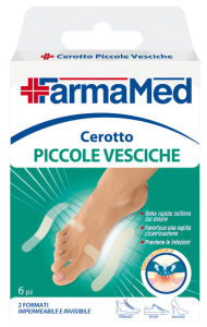 FARMAMED Feet Patches Bladders Small 05232 Product For dressing 6 Pieces