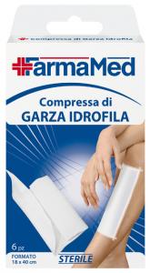 FARMAMED Garza Idrofila 18X40 6 Pezzi 05253  Parafarmacia E Cura Della Persona