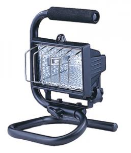 Projecteur Halogène Rectangulaire Portable 400 Watt Matériel Électrique