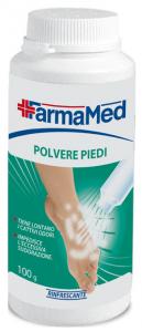 FARMAMED Piedi Polvere Deodorante 100 Gr 05314 Cura Dei Piedi Pedicure