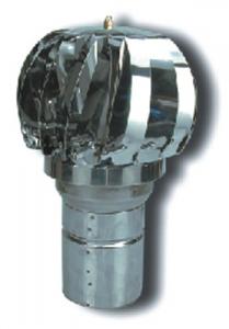 Aspiratore Eolico A Turbina-Inox 304 Cm 12 Riscaldamento