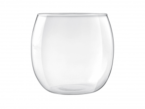 H&H Confezione 6 bicchieri in vetro buly cc460 Calici vino bicchieri tavola