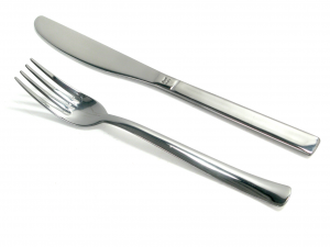 Set 12 Forks Stainless steel Fruit Point Furniture Table