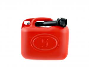 ADRIATICA Tanica Per Benzina Plastica Lt 5 Accessori Barbecue E Picnic