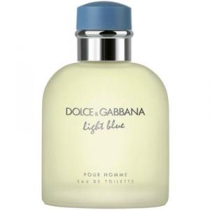 DOLCE & GABBANA Light Blue Pour Homme Acqua Profumata 75 Ml Fragranza Uomo