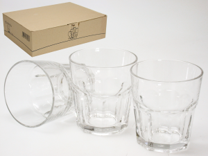 PASABAHCE Set 12 Glass Glasses Casablanca 36 Furniture Table