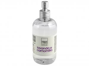 H&H Spray Per Tessuti Profumazione Lavanda/Camomilla Riordino E Lavanderia