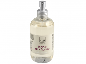 H&H Spray For Fabrics Wood Fragrance Aromatic Reorder And Laundry