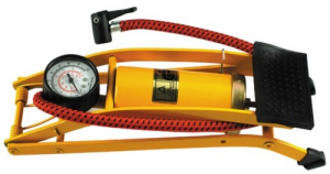 MAURER Foot Pump With Pressure gauge Tuv-Gs Products For Bikes