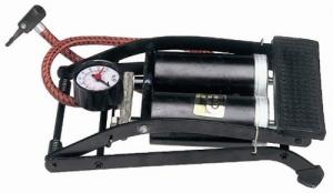 MAURER Bomba de pie Tipo Doble Con Manómetro Productos Para Bicicletas