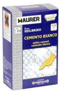 EDILBRIKO Set 12 Cemento Bianco Edilbriko Scatola Kg 1 Colori Fa Da Te - Casa