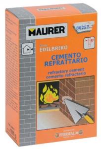 EDILBRIKO Set 12 Cemento Refrattario Edilbriko Scatola Kg 1 Colori Fa Da Te - Casa