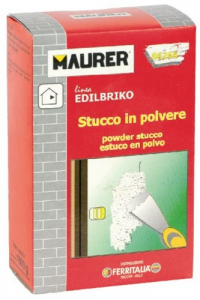 EDILBRIKO Set 12 Stucco In Polvere Edilbriko Scatola Kg 1 Colori Fa Da Te - Casa