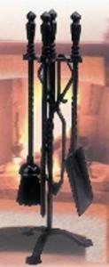 Accessori Per Caminetti - Set 5 Pezzi Cm 58 H Riscaldamento Accessori Caminetto