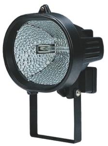 Projecteur Halogène Ovale Avec Staffa 300 Watt Matériel Électrique