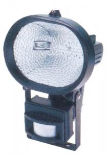 Proiettore Alogeno Ovale Con Sensore E Staffa 230 Watt Materiale Elettrico