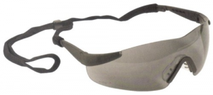 MAURER Occhiali Stanghette Regolabili Lenti Grigie Antinfortunistica Protezione