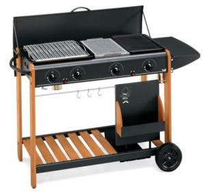 Barbecue Multi Gas Millenium Cm 102X43X H 83 Giardinaggio
