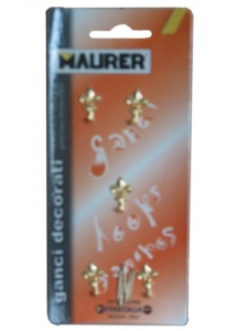 MAURER Hook Decoration Lily Mignon Gold Pieces 5 - Hardware