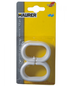 MAURER Hooks For Tents Pack Pieces 12 Hydraulics Furniture Bathroom