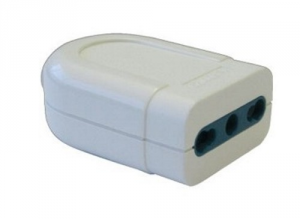 MAURER Socket White 2P + T 16A Bypass Material Electric Civil