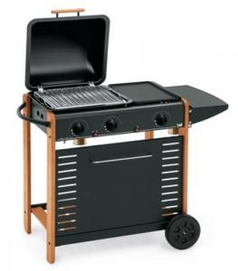 Barbecue Multi Gas Berna Cm 76X43 H 83 Giardinaggio