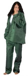 Completo Da Lavoro Poliestere/Pvc Verde Taglia L Antinfortunistica Protezione