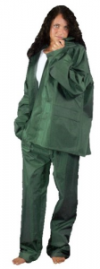 Completo Da Lavoro Poliestere/Pvc Verde Taglia Xxl Antinfortunistica Protezione