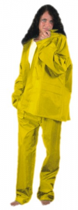 Work Package Polyester / PVC Yellow Cut XXL Accident prevention Protection