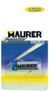 MAURER Set 10 Batterie Alcaline Per Telecomandi 23A/12V-Pz 1 Materiale Elettrico