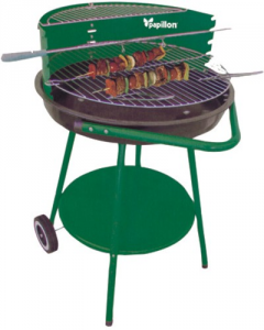 Barbecue Papillon Apache Cm 53X82 H Gardening Charcoal-Wood