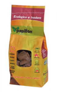 Set 12 Accendifuoco Papillon Ecological 72 Cubes Heating