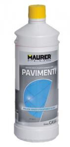 MAURER PLUS Detergente Limpiadores de pisos Lt 1 Colores Limpieza Casa