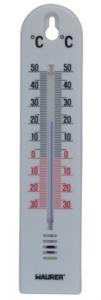 MAURER Termometro Parete Plastica Cm 200X4,5 Linea Casa