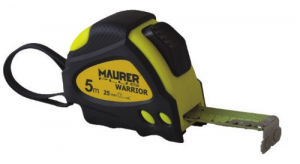 MAURER Measuring tape Plus Warrior Magnet Mt 5 mm 25 Tools Manual