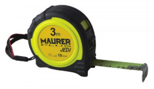 MAURER Measuring tape Plus Jedi Magnet Mt 5 mm 25 Tools Manual