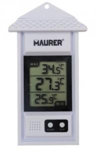 MAURER Termometro Digitale Min-Max Cm 15 Linea Casa