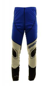 BRIKO VINTAGE Pantaloni lunghi sci fondo uomo KATANA RACING blu nero 0A4951--52