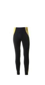 BRIKO VINTAGE Pantaloni sci fondo donna OLYMPIC MDC nero giallo 0A4977--52
