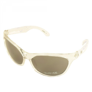 Bk By Briko Sunglasses Time Free Woman Wind White Transparent 0s5711