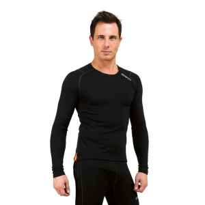 Briko Jersey Breathable Winter Sleeves Long Man Corewarm Black 100053
