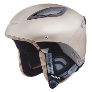 Briko casque de snowboard ski alpin capuchon unisexe gris ABS DAKOTA 100085