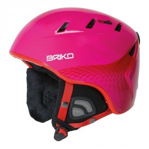 BRIKO Casco sci discesa snowboard unisex freeride KODIAK fucsia rosso 100086