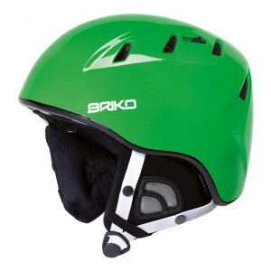 BRIKO Casco sci discesa snowboard unisex freeride KODIAK verde 100086