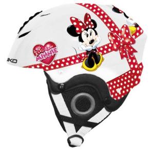 Briko Helmet Ski Descent Junior Cap Abs Pocket Disney Minnie 100089