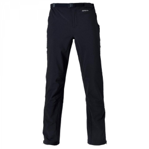 BRIKO Pantaloni invernali uomo nordic walking PERFORMANCE SHELL nero 100457